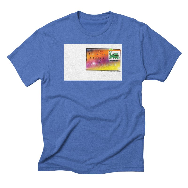 Gra fic design Passhion!!! Men's Triblend T-Shirt by Breath of Life Art Studio Shop