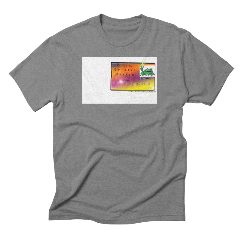 Gra fic design Passhion!!! Men's Triblend T-Shirt by Breath of Life Art Studio Shop