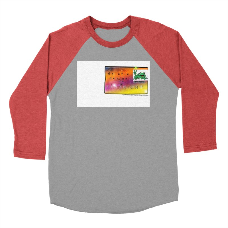 Gra fic design Passhion!!! Women's Baseball Triblend T-Shirt by Breath of Life Art Studio Shop