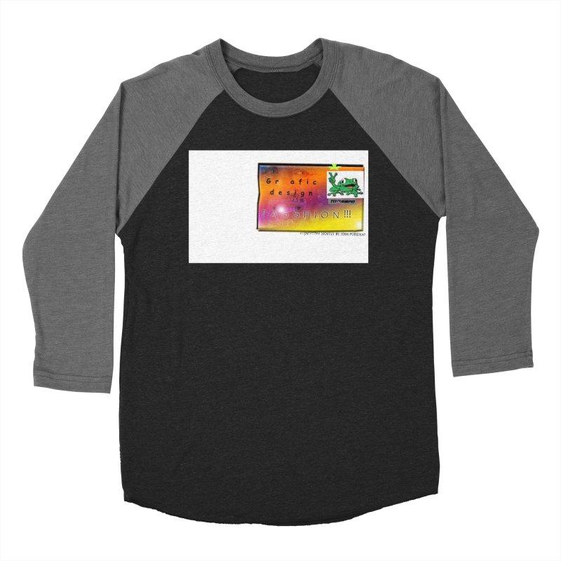 Gra fic design Passhion!!! Women's Baseball Triblend Longsleeve T-Shirt by Breath of Life Development Merch Shop