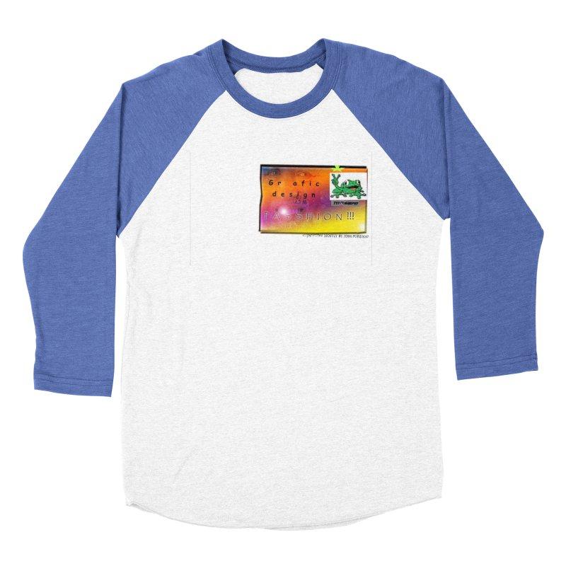 Gra fic design Passhion!!! Men's Baseball Triblend T-Shirt by Breath of Life Art Studio Shop