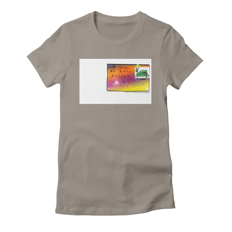 Gra fic design Passhion!!! Women's Fitted T-Shirt by Breath of Life Art Studio Shop