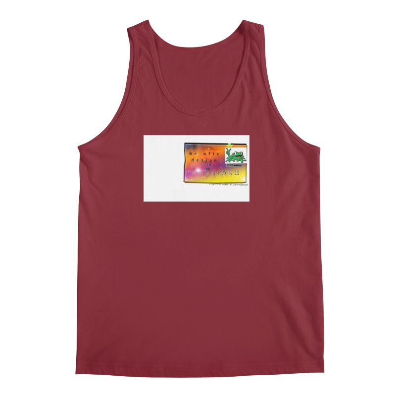 Gra fic design Passhion!!! Men's Tank by Breath of Life Art Studio Shop