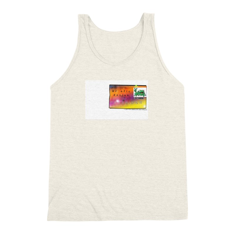 Gra fic design Passhion!!! Men's Triblend Tank by Breath of Life Art Studio Shop