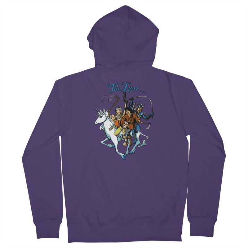 The Last Of Everything Women's Zip-Up Hoody by Breath of Life Art Studio Shop