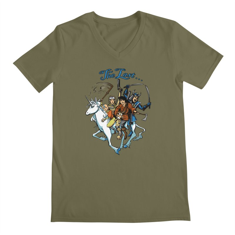 The Last Of Everything Men's V-Neck by Breath of Life Art Studio Shop