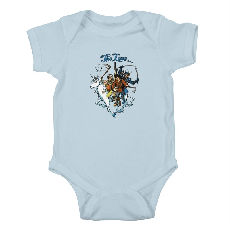The Last Of Everything Kids Baby Bodysuit by Breath of Life Art Studio Shop