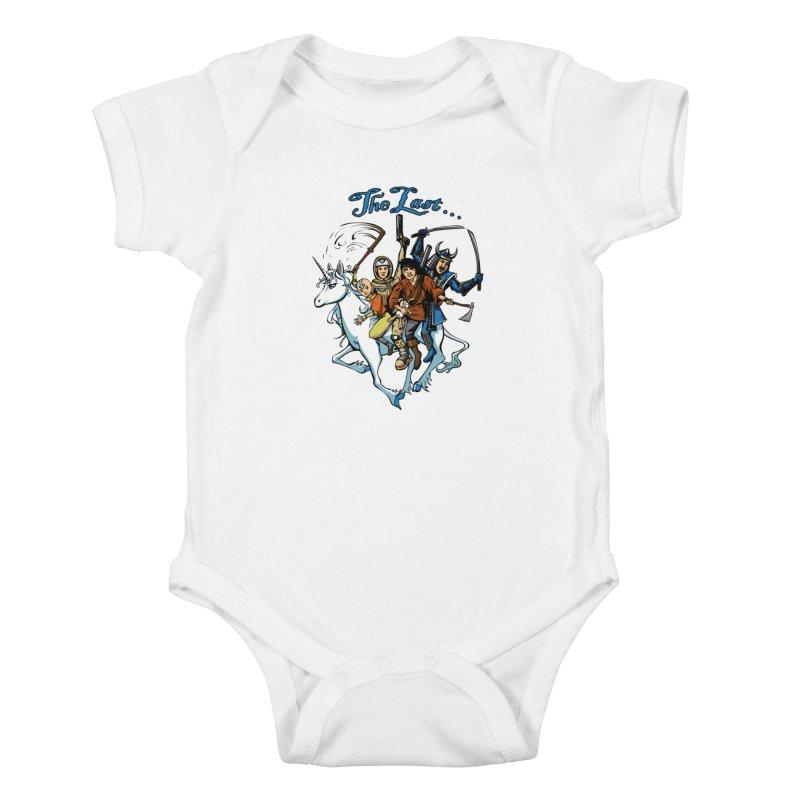 The Last Of Everything Kids Baby Bodysuit by joshforeman's Artist Shop
