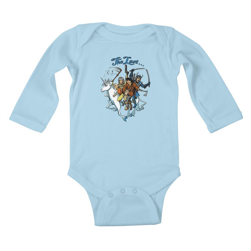 The Last Of Everything Kids Baby Longsleeve Bodysuit by joshforeman's Artist Shop