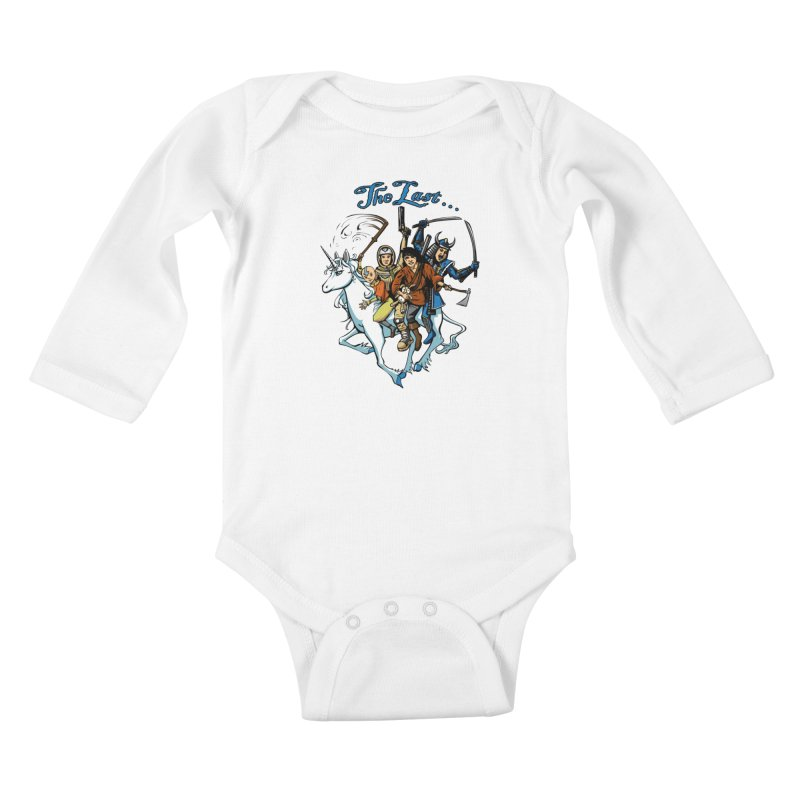 The Last Of Everything Kids Baby Longsleeve Bodysuit by Breath of Life Art Studio Shop