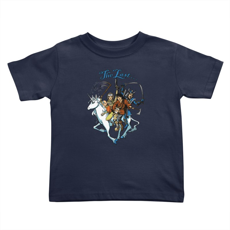 The Last Of Everything Kids Toddler T-Shirt by Breath of Life Art Studio Shop