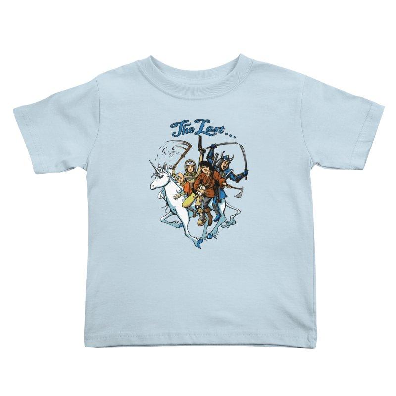 The Last Of Everything Kids Toddler T-Shirt by joshforeman's Artist Shop