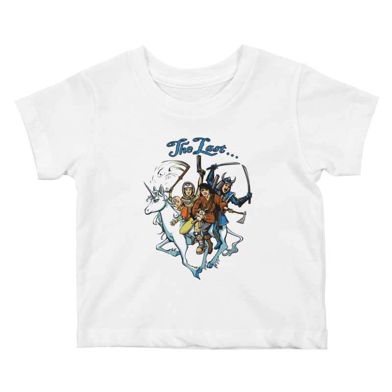 The Last Of Everything Kids Baby T-Shirt by Breath of Life Art Studio Shop