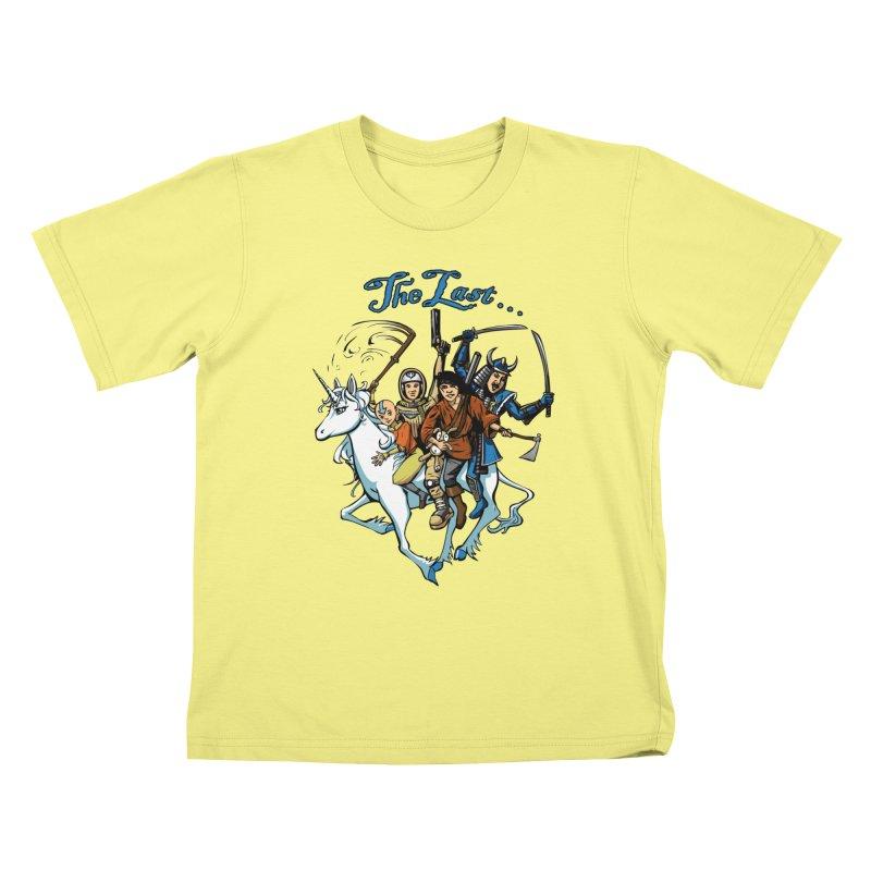 The Last Of Everything Kids T-shirt by joshforeman's Artist Shop