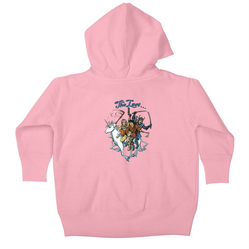 The Last Of Everything Kids Baby Zip-Up Hoody by Breath of Life Art Studio Shop
