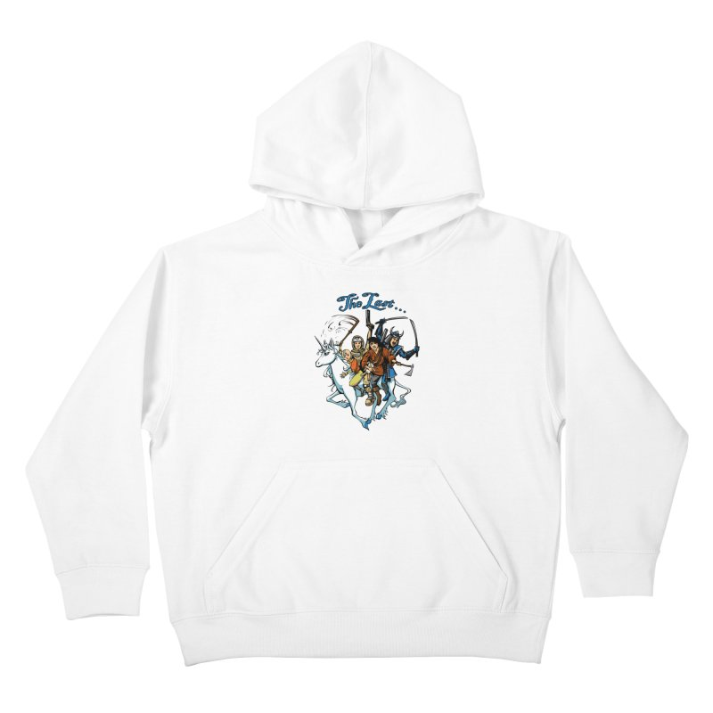 The Last Of Everything Kids Pullover Hoody by Breath of Life Art Studio Shop