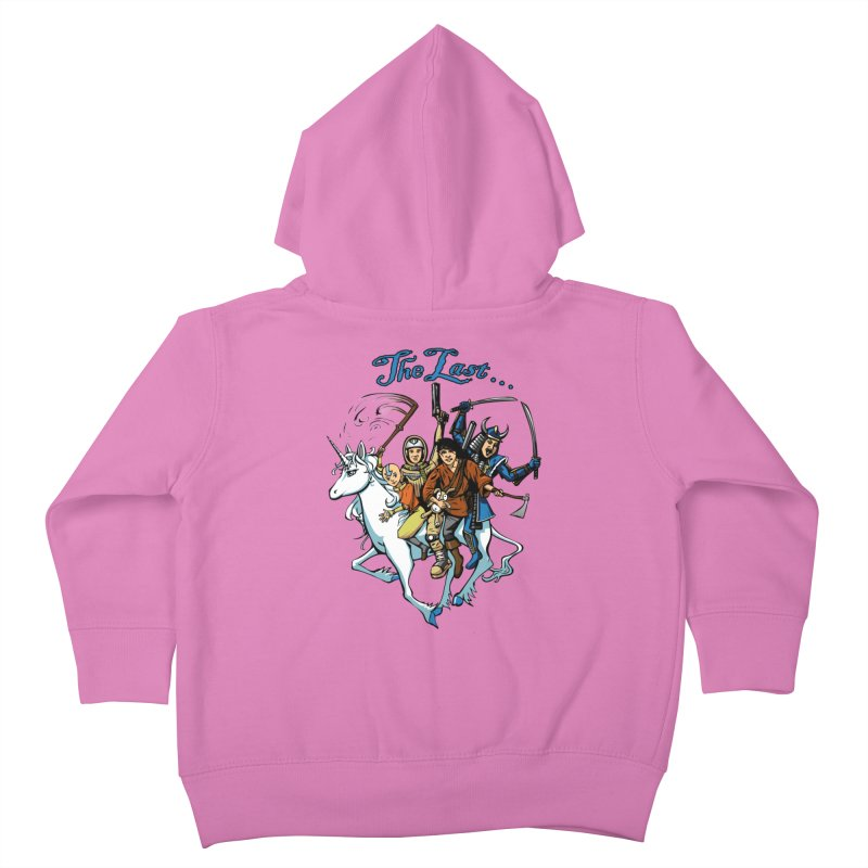 The Last Of Everything Kids Toddler Zip-Up Hoody by Breath of Life Art Studio Shop