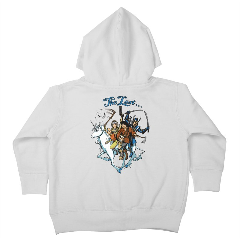 The Last Of Everything Kids Toddler Zip-Up Hoody by Breath of Life Development Merch Shop