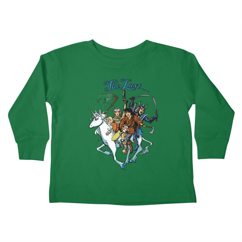 The Last Of Everything Kids Toddler Longsleeve T-Shirt by joshforeman's Artist Shop