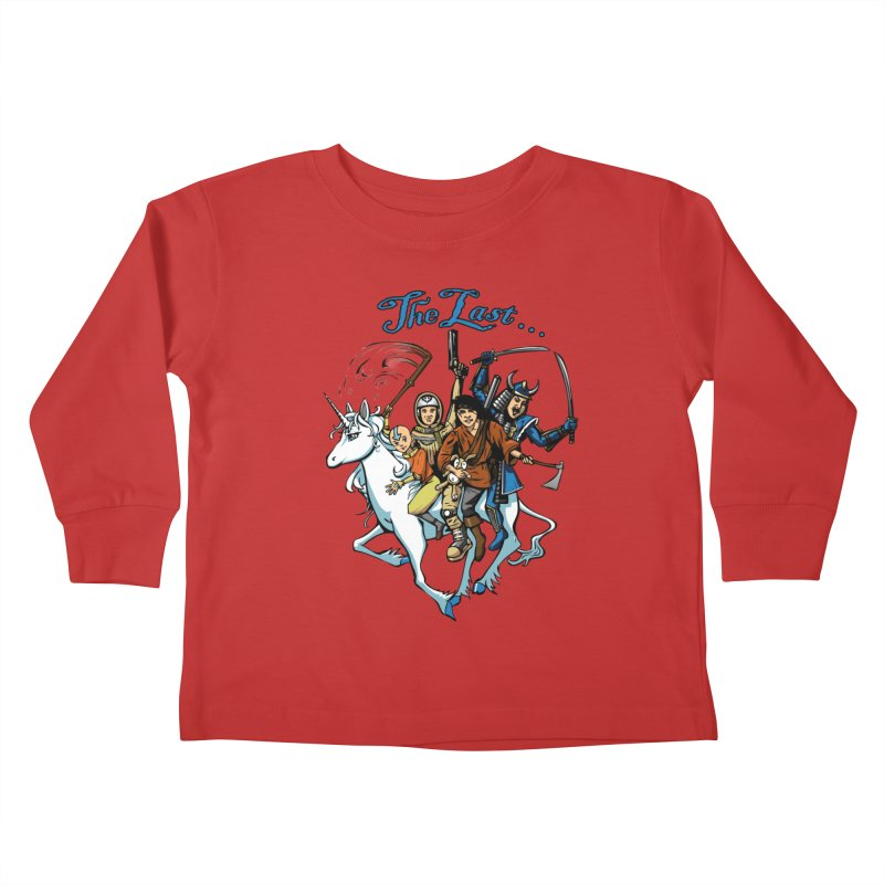 The Last Of Everything Kids Toddler Longsleeve T-Shirt by Breath of Life Art Studio Shop