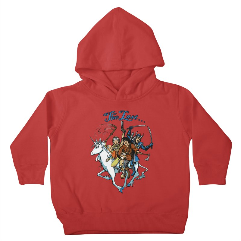 The Last Of Everything Kids Toddler Pullover Hoody by joshforeman's Artist Shop