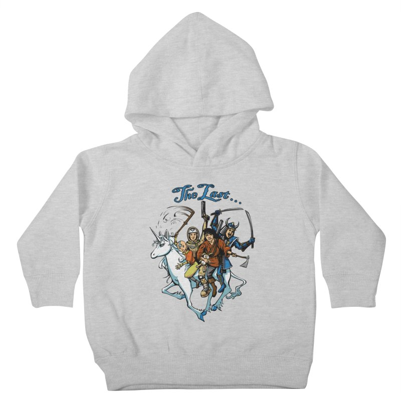 The Last Of Everything Kids Toddler Pullover Hoody by Breath of Life Art Studio Shop
