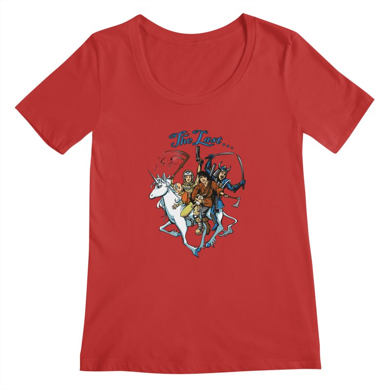 The Last Of Everything Women's Scoopneck by Breath of Life Art Studio Shop