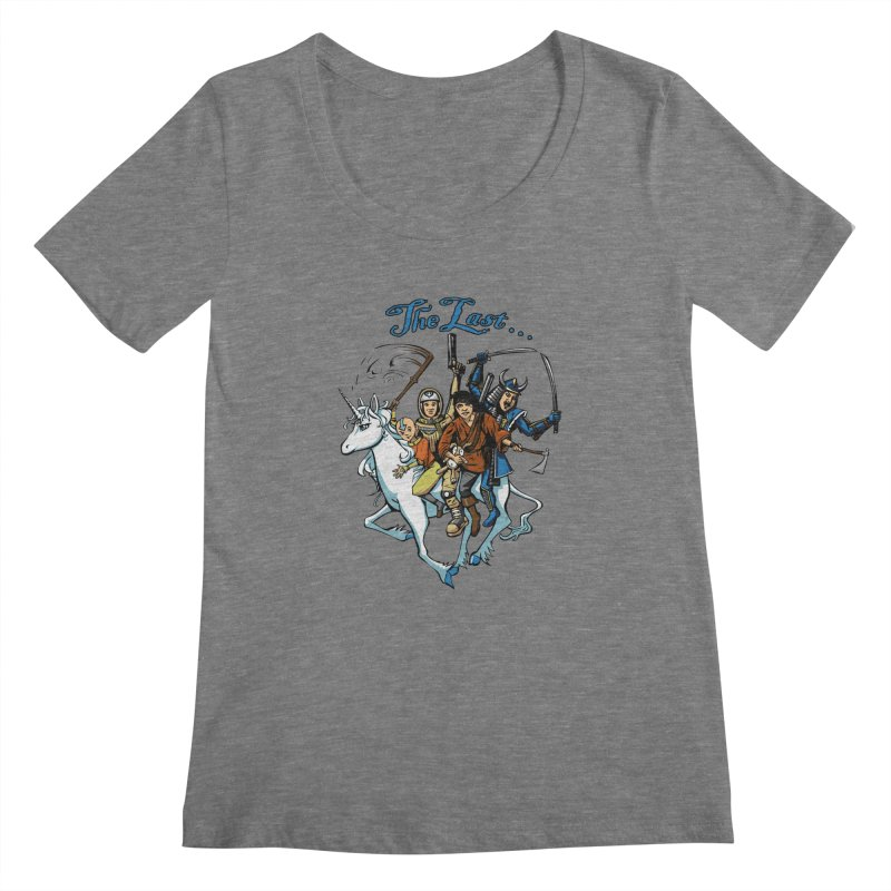 The Last Of Everything Women's Scoopneck by joshforeman's Artist Shop
