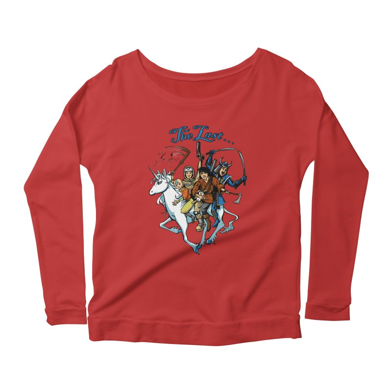 The Last Of Everything Women's Longsleeve Scoopneck  by Breath of Life Art Studio Shop
