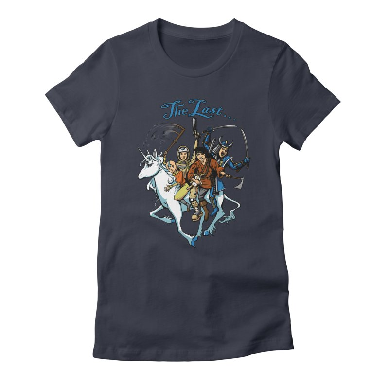 The Last Of Everything Women's Fitted T-Shirt by joshforeman's Artist Shop