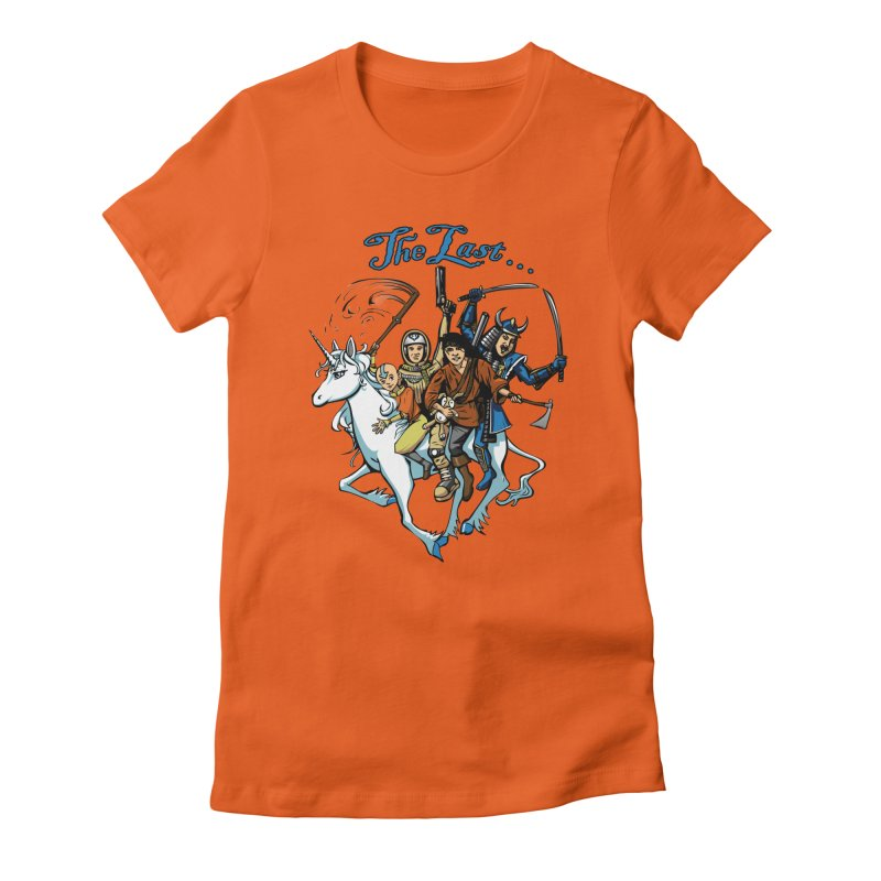 The Last Of Everything Women's Fitted T-Shirt by Breath of Life Art Studio Shop