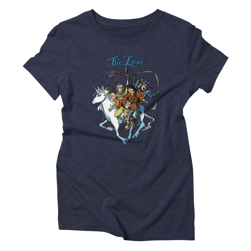 The Last Of Everything Women's Triblend T-Shirt by Breath of Life Art Studio Shop