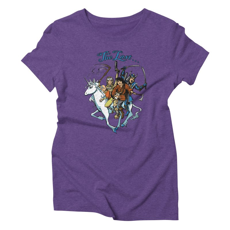 The Last Of Everything Women's Triblend T-Shirt by Breath of Life Development Merch Shop