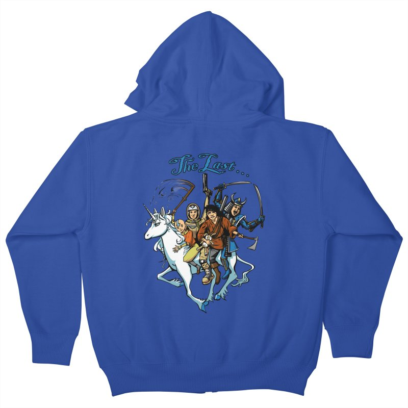 The Last Of Everything Kids Zip-Up Hoody by Breath of Life Art Studio Shop
