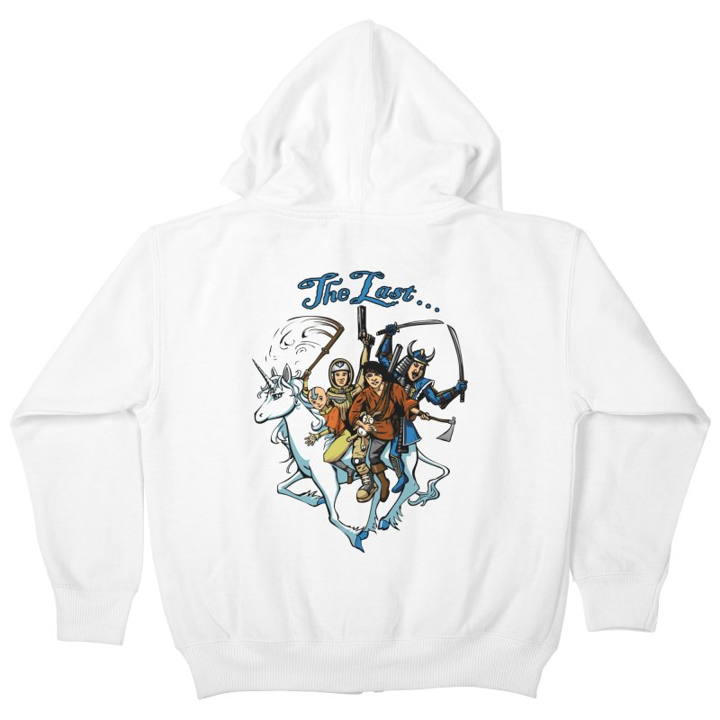 The Last Of Everything Kids Zip-Up Hoody by joshforeman's Artist Shop