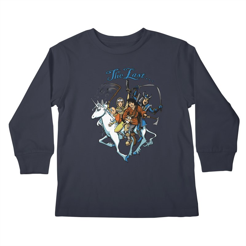 The Last Of Everything Kids Longsleeve T-Shirt by joshforeman's Artist Shop