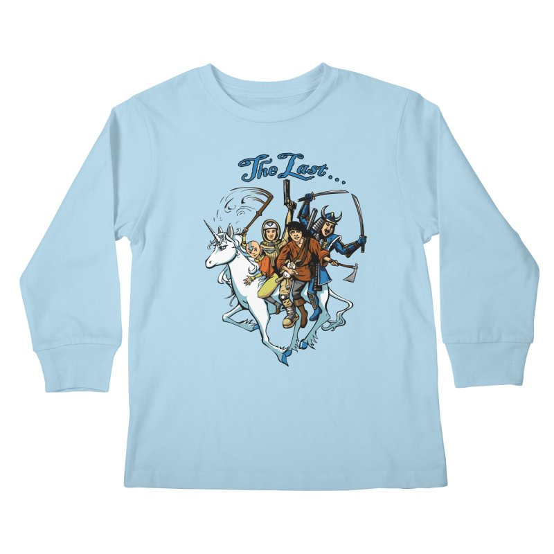 The Last Of Everything Kids Longsleeve T-Shirt by Breath of Life Art Studio Shop