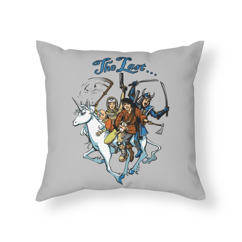 The Last Of Everything Home Throw Pillow by Breath of Life Art Studio Shop