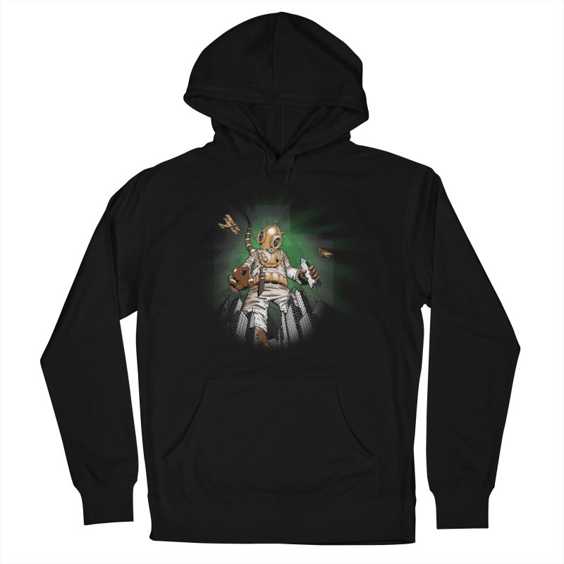 Diver? Men's Pullover Hoody by Breath of Life Art Studio Shop
