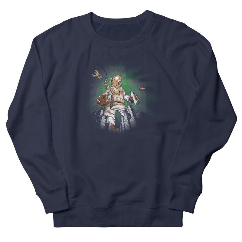 Diver? Men's Sweatshirt by Breath of Life Art Studio Shop