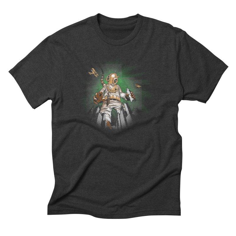 Diver? Men's Triblend T-Shirt by Breath of Life Art Studio Shop