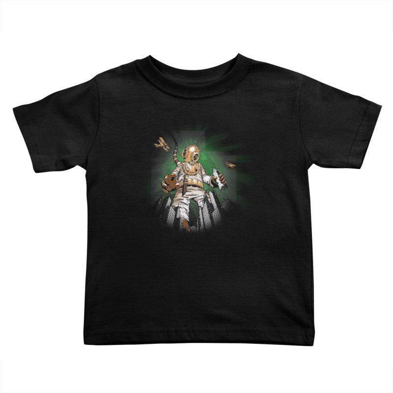 Diver? Kids Toddler T-Shirt by Breath of Life Art Studio Shop
