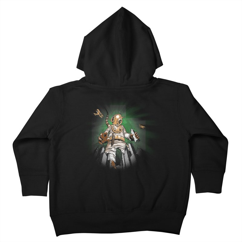 Diver? Kids Toddler Zip-Up Hoody by Breath of Life Art Studio Shop