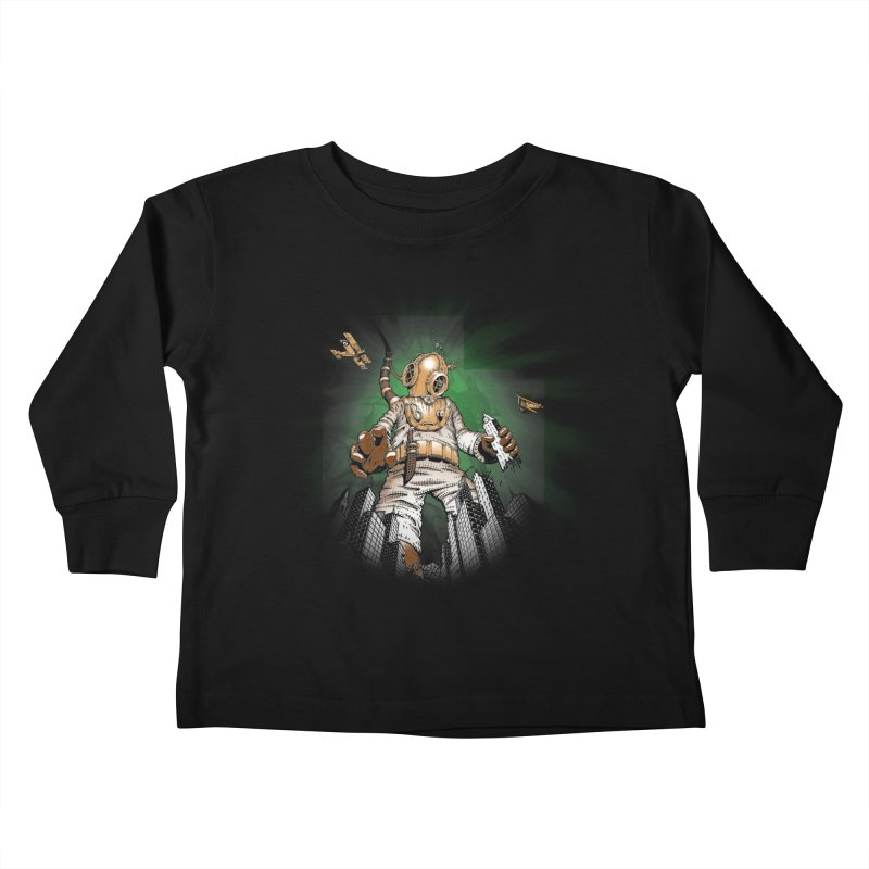 Diver? Kids Toddler Longsleeve T-Shirt by joshforeman's Artist Shop