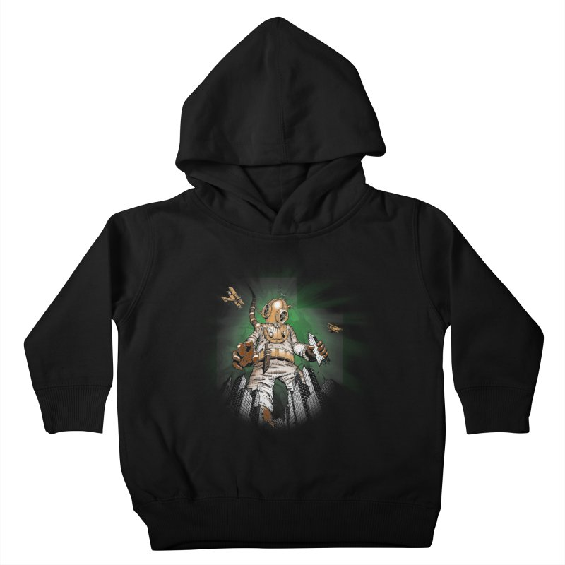 Diver? Kids Toddler Pullover Hoody by Breath of Life Art Studio Shop