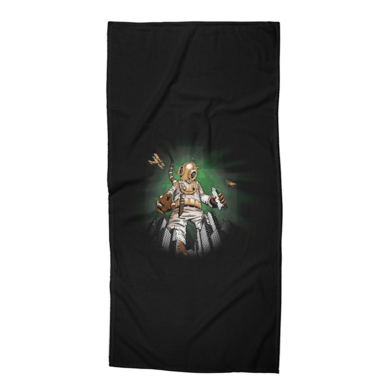 Diver? Accessories Beach Towel by Breath of Life Art Studio Shop