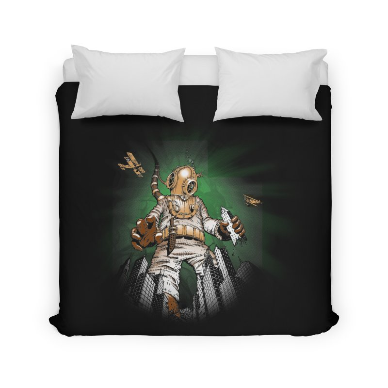 Diver? Home Duvet by Breath of Life Art Studio Shop