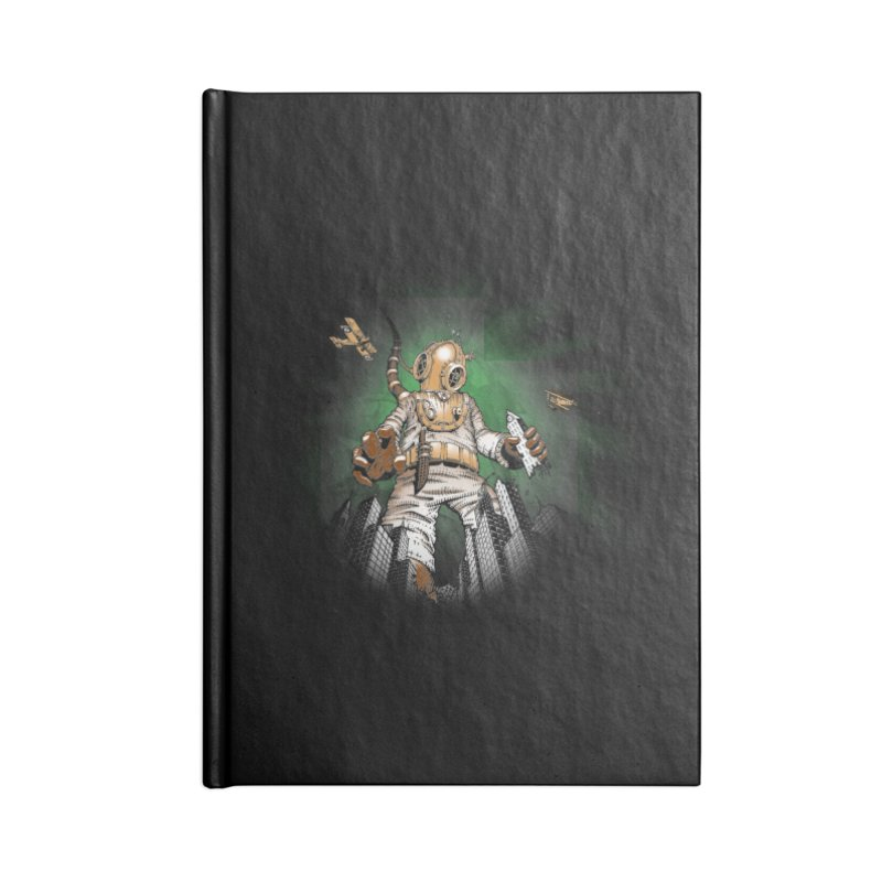 Diver? Accessories Lined Journal Notebook by Breath of Life Development Merch Shop