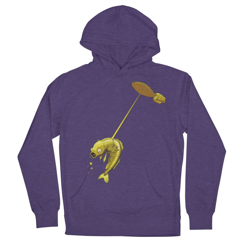 Slappy Fish! Men's French Terry Pullover Hoody by Breath of Life Development Merch Shop