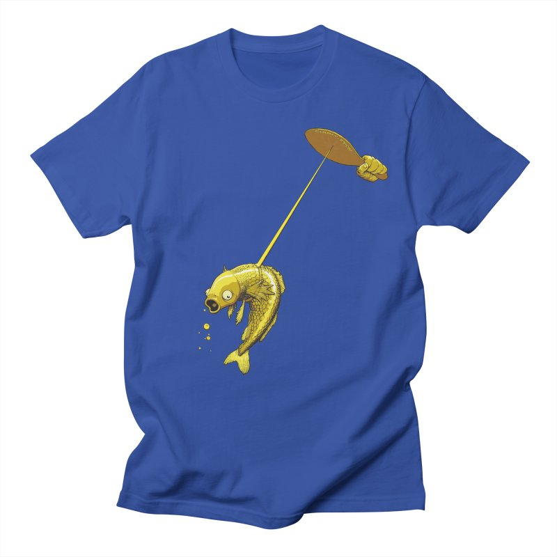 Slappy Fish! Men's T-Shirt by Breath of Life Art Studio Shop